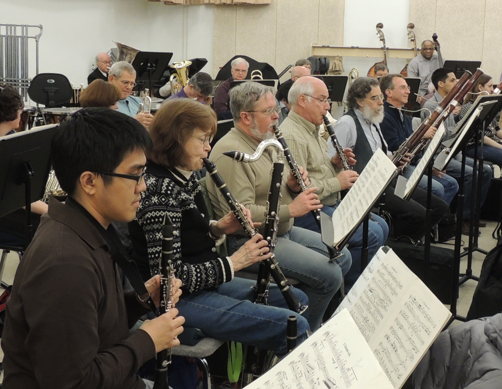 May 2013 Mahler 3 - Clarinets